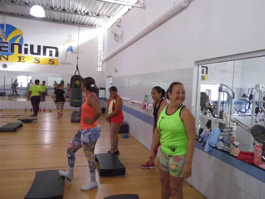 Circuito Na Academia : Circuito funcional realizado na academia millenium fitness